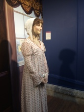 They have a life-sized wax figure of Jane Austen which was a bit creepy I will admit.
