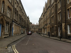 The streets in Oxford are really wonderful. It feels like you are in an entirely different time.