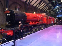 The Hogwarts Express, unfortunately didn't get a picture in front of it.