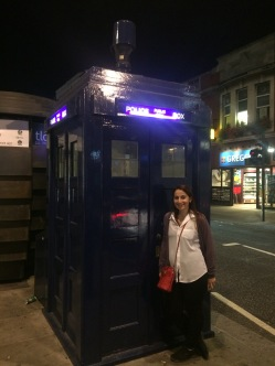 Me and the TARDIS!!!